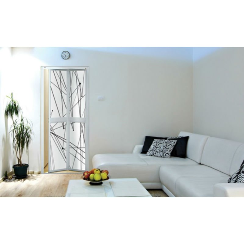 Vitally ...  sc 1 st  Maxim Furniture & Vitally Black u0026 White Series - Bi-Fold One Pro Door