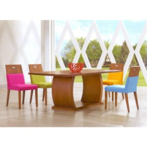 Dining Set- Wooden (6 Seater)