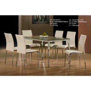 Dining Set- Glass (6 Seater)