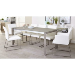 Dining Set- Glass (4 Seater)